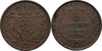5 Centesimi 1826 Italien Sardinien Carlo Felice, 1821-1831. ss+  25,00 EUR  zzgl. 3,00 EUR Versand