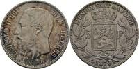 5 Francs 1873 Belgien Leopold II., 1865-1909 ss  33,00 EUR  zzgl. 3,00 EUR Versand