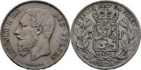 5 Francs 1870 Belgien Leopold II., 1865-1909 ss  35,00 EUR  zzgl. 3,00 EUR Versand