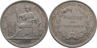 Handelsmünze Piastre 1900 Frankreich Indochina    60,00 EUR  zzgl. 3,00 EUR Versand