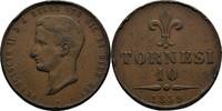 10 Tornesi 1859 Italien Neapel und Sizilien Francesco II., 1859-1861. k... 30,00 EUR  zzgl. 3,00 EUR Versand