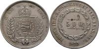 500 Reis 1860 Brasilien Pedro II., 1831-1889 ss  45,00 EUR  zzgl. 3,00 EUR Versand