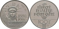 100 Francs Piedfort 1986 Frankreich  offen, PP, minimal berieben.  65,00 EUR  zzgl. 3,00 EUR Versand
