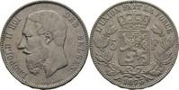 5 Francs 1873 Belgien Leopold II., 1865-1909. ss  30,00 EUR  zzgl. 3,00 EUR Versand