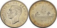 Dollar 1952 Canada George VI. vz  38,00 EUR  zzgl. 3,00 EUR Versand
