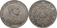 5 Mark 1913 Preussen Wilhelm II., 1888-1918 Kratzer, fast vorzüglich  40,00 EUR  zzgl. 3,00 EUR Versand