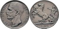 10 Lire 1927 Italien Viktor Emanuel III., 1900-1946. Randschläge, ss  30,00 EUR  zzgl. 3,00 EUR Versand
