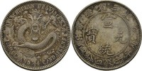 20 Cents 1913 China Manchurian Province  vz  50,00 EUR  zzgl. 3,00 EUR Versand