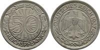 50 Reichspfennig 1937 D Deutsches Reich  vz  10,00 EUR  zzgl. 3,00 EUR Versand