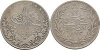5 Qirsh  Ägypten Abdul Hamid II. ss  12,00 EUR  zzgl. 3,00 EUR Versand