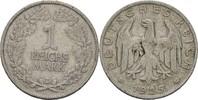 Reichsmark 1925 D Deutsches Reich  f.ss  15,00 EUR  zzgl. 3,00 EUR Versand