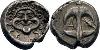 Drachme 400-300 Thrakien Apollonia Pontica  ss  165,00 EUR  zzgl. 3,00 EUR Versand