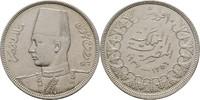 10 Piaster 1937 Ägypten Farouk, 1936-1952 vz  20,00 EUR  zzgl. 3,00 EUR Versand