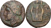 Bronze 337-250 Sizilien Tauromenion  ss  100,00 EUR  zzgl. 3,00 EUR Versand