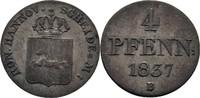 4 Pfennig 1837 Königreich Hannover Wilhelm IV., 1830-1837 ss  10,00 EUR  zzgl. 3,00 EUR Versand