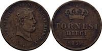 10 Tornesi 1856 Italien - Neapel + Sizilien Ferdinand II., 1830-59 ss R... 40,00 EUR  +  3,00 EUR shipping