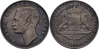 Taler 1860 Nassau Adolph, 1839-1866 Grafitti, ss  85,00 EUR  zzgl. 3,00 EUR Versand