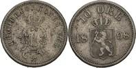 10 Öre 1898 Norwegen Oscar II., 1872-1907 ss  20,00 EUR  zzgl. 3,00 EUR Versand