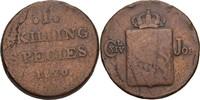1 Skilling 1820 Norwegen Carl XIV., 1818-44 s+  15,00 EUR  zzgl. 3,00 EUR Versand