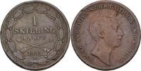 1 Skilling 1852 Schweden Oscar I., 1844-59 fast ss  25,00 EUR  zzgl. 3,00 EUR Versand