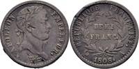 Demi Franc 1808 Frankreich Paris Napoleon I., 1804-1814/15 Bug, ss  50,00 EUR  zzgl. 3,00 EUR Versand