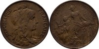 10 Centimes 1898 Frankreich  fast prägefrisch  60,00 EUR  zzgl. 3,00 EUR Versand