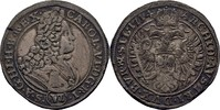 VI Kreuzer 1714 RDR Schlesien Breslau Karl VI., 1711-1740. Kratzer, ss  35,00 EUR  zzgl. 3,00 EUR Versand
