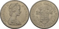 1 Dollar 1971 Kanada Elisabeth II. vz kl. Kratzer  5,00 EUR  zzgl. 3,00 EUR Versand