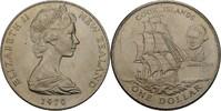 1 Dollar 1970 Neuseeland Elisabeth II. vz kl. Kratzer  6,00 EUR  zzgl. 3,00 EUR Versand