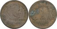 1 Peso 1951 Chile General O´Higgins ss  3,00 EUR  zzgl. 3,00 EUR Versand