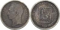 50 Centimos 1954 Venezuela  ss-  5,00 EUR  zzgl. 3,00 EUR Versand