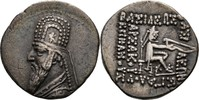 Drachme 123-88 Parther Persien Arsakiden Mithradates II., 123-88 vz  85,00 EUR  zzgl. 3,00 EUR Versand