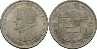 1/4 Balboa 1961 Panama  vz  15,00 EUR  zzgl. 3,00 EUR Versand