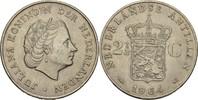 2 1/2 Gulden 1964 Niederl. Antillen Juliana, 1948-80 vz+  20,00 EUR  zzgl. 3,00 EUR Versand