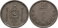 20 Mongo 1937 Mongolei  vz  30,00 EUR  zzgl. 3,00 EUR Versand