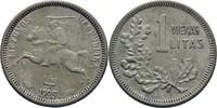 1 Litas 1925 Litauen  ss  9,00 EUR  zzgl. 3,00 EUR Versand