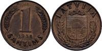 1 Santims 1938 Lettland  vz  7,00 EUR  zzgl. 3,00 EUR Versand