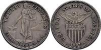 20 Centavos 1907 Philippinen  vz  50,00 EUR  zzgl. 3,00 EUR Versand