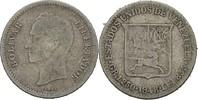 1/4 Bolivar 1948 Venezuela  fast ss  7,00 EUR  zzgl. 3,00 EUR Versand