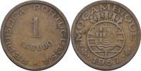 1 Escudo 1957 Port. Mosambik  ss  7,00 EUR  zzgl. 3,00 EUR Versand