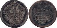 Quadrans 1743 RDR Tirol Hall Maria Theresia, 1740-1780 ss  70,00 EUR  zzgl. 3,00 EUR Versand