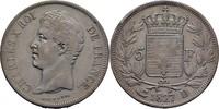 5 Francs 1827 D Frankreich Lyon Charles X., 1824-1830 ss  100,00 EUR  zzgl. 3,00 EUR Versand