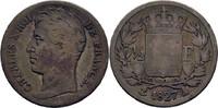 1/2 Franc 1827 A Frankreich Charles IX., 1824-1830 f.ss  40,00 EUR  zzgl. 3,00 EUR Versand