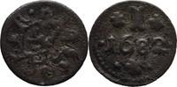 Pfennig 1682 Rostock  ss  50,00 EUR  zzgl. 3,00 EUR Versand