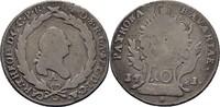 10 Kreuzer 1781 Bayern Amberg Karl Theodor, 1777-1799 Geglättet, Henkel... 18,00 EUR  zzgl. 3,00 EUR Versand