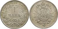1 Mark 1886 D Kaiserreich Wilhelm I., 1858-88 fast Stempelglanz  80,00 EUR  zzgl. 3,00 EUR Versand