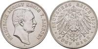 5 Mark 1907 Sachsen Friedrich August III., 1904-1918 ss  60,00 EUR  zzgl. 3,00 EUR Versand