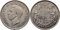 50 Cents 1946 Kanada George VI., 1936-52 fast Stempelglanz  40,00 EUR  zzgl. 3,00 EUR Versand