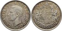 50 Cents 1942 Kanada George VI., 1936-52 fast Stempelglanz  30,00 EUR  zzgl. 3,00 EUR Versand