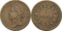 5 Centimes 1827 H Franz. Kolonien Charles X., 1824-30 ss  20,00 EUR  zzgl. 3,00 EUR Versand